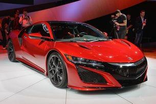 Acura обяви новото поколение на спортния модел NSX