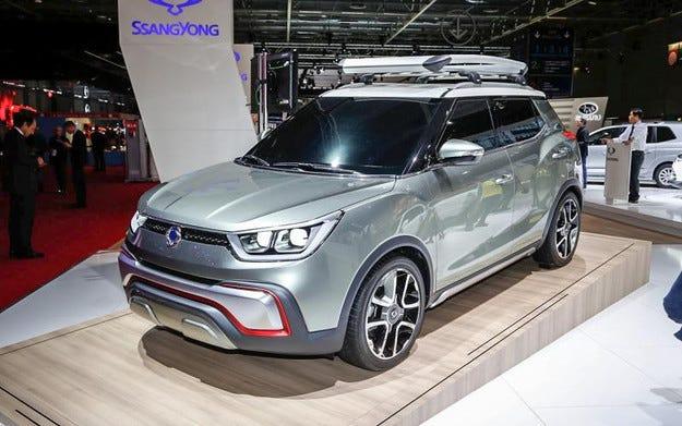 SsangYong представи конкурент на Nissan Juke