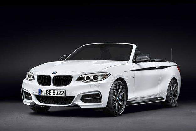 BMW Серия 2 Cabrio: По-спортен с M Performance-Parts