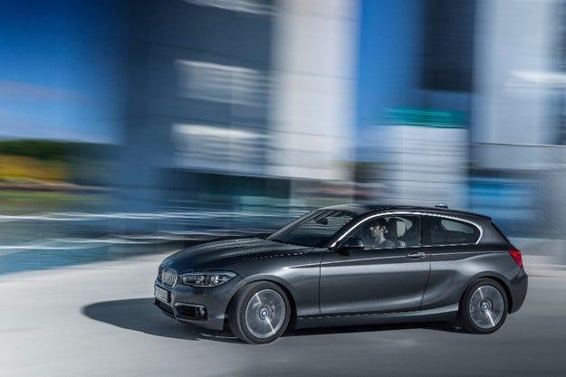 Немската компания BMW представи обновeната Серия 1