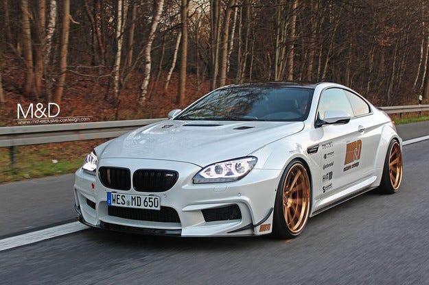 M&D Exclusive BMW 650i: Серия 6 става страхотен звяр