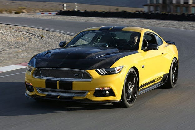 Ford Mustang като Shelby GT: Ъпгрейд пакет с 627 к.с.