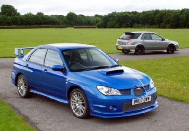 Subaru Impreza GB270 Final Edition