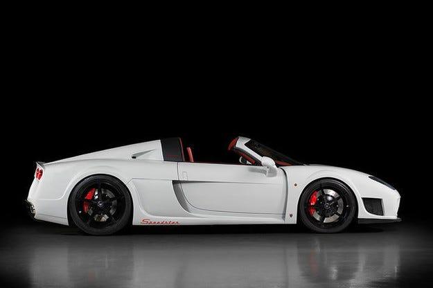 Noble M600 Speedster: Супер спортен и без покрив