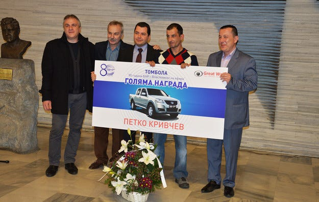 Петко Кривчев спечели Great Wall Steed 5 за рождения ден на БНР