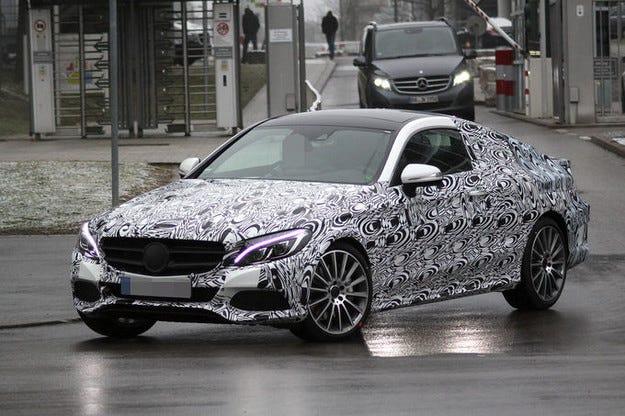 Mercedes C-класа Coupé дебютира във Франкфурт