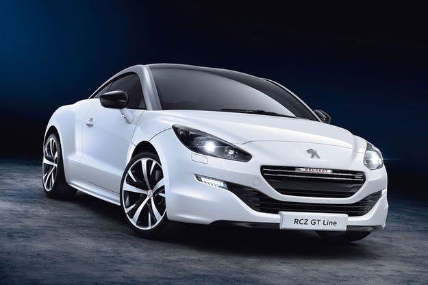 Peugeot RCZ GT-Line: Спортно купе в спортна визия