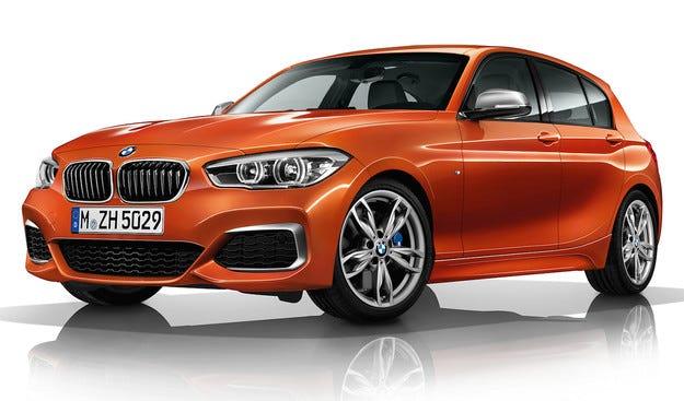 BMW показа обновeната версия на хечбека M135i