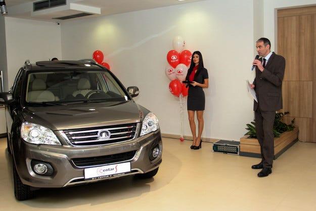 """Откриха първия шоурум на """"Литекс Моторс""""в Сърбия"""