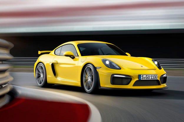 Новият Porsche Cayman GT4 получи мотор с  385 к.с.