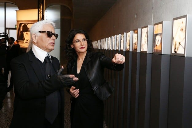 "Карл Лагерфелд откри изложба ""Corsa Karl and Choupette"""