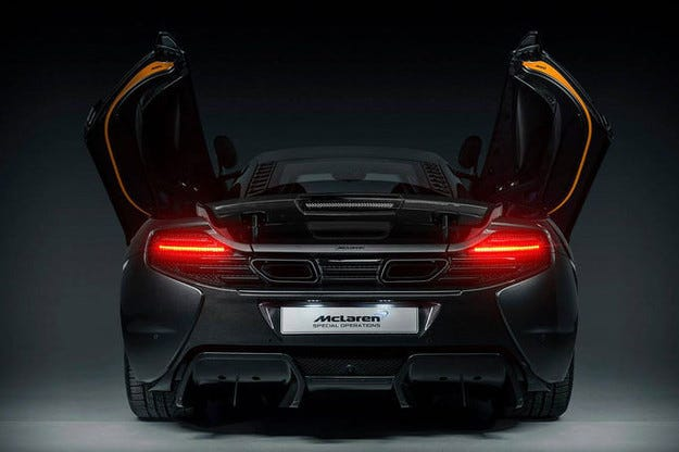 McLaren MSO 650S Project Kilo: Още повече карбон
