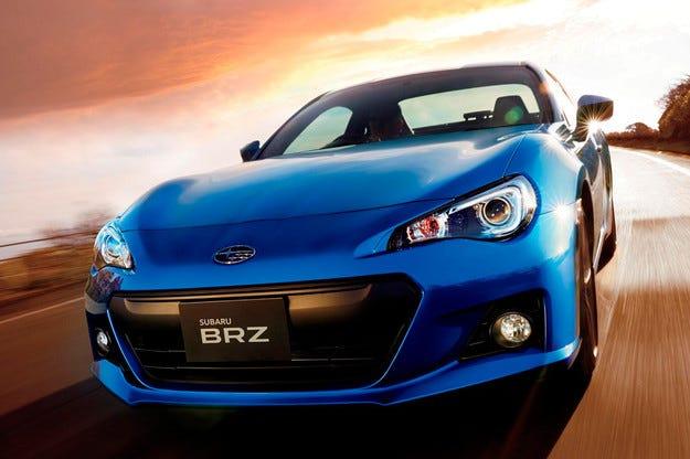 Японската компания Subaru обнови купето BRZ