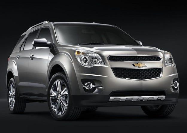 Chevrolet представя в Чикаго обновения всъдеход Equinox