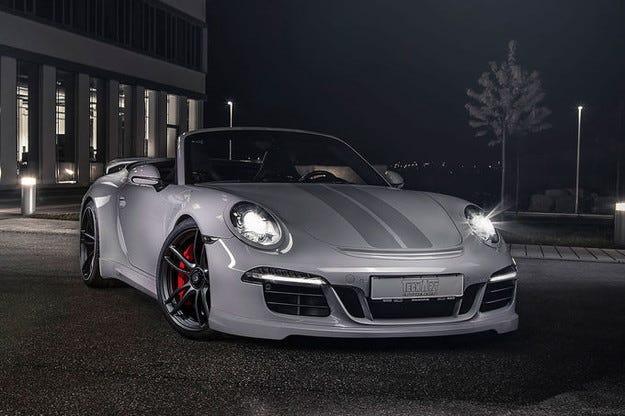 Techart Porsche 911 GTS гастролира на салона в Женева