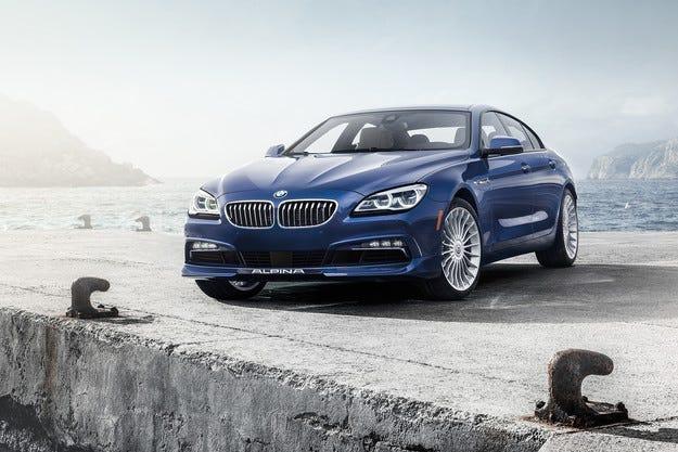 Седанът BMW Alpina B6 Gran Coupe стана по-мощен