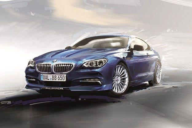Юбилейна серия BMW Alpina Edition 50 в Женева