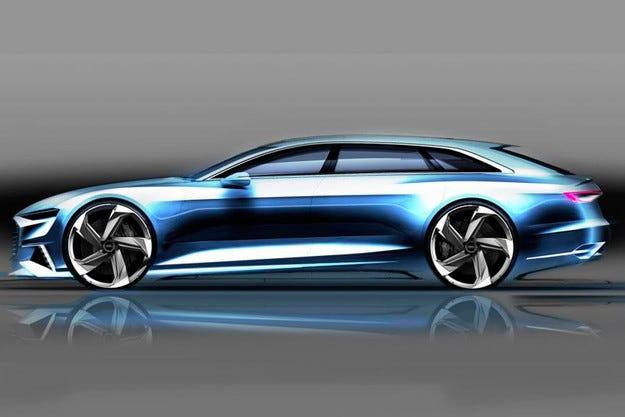Audi ще представи комбито Prologue Avant през март