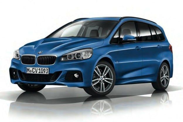 BMW Серия 2 Gran Tourer получи спортна версия