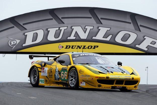 Dunlop и ACO подписаха тригодишен договор