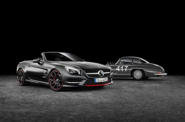 Специална версия на Mercedes SL посветена на Mille Miglia