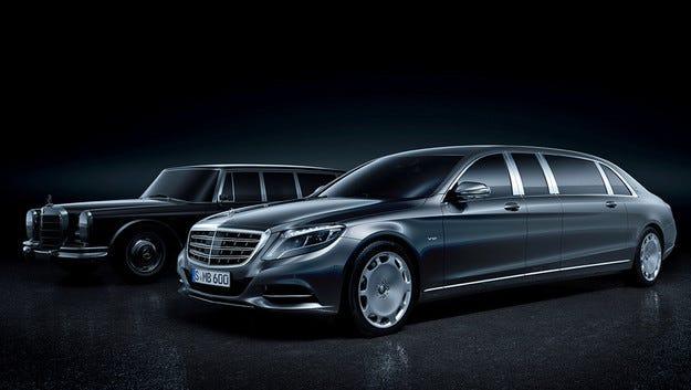 Mercedes представя в Женева най-скъпата си лимузина
