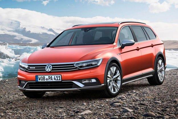Volkswagen показа високопроходима версия Passat