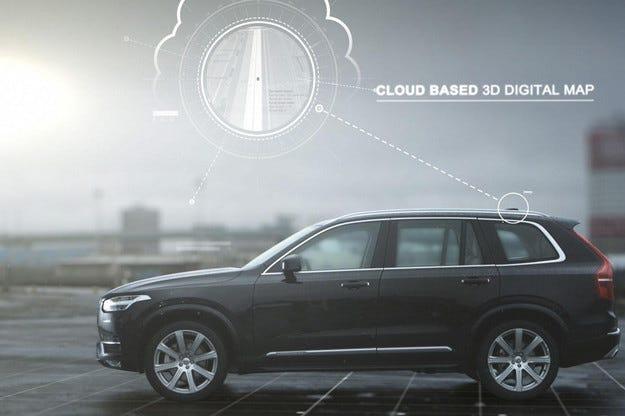 Volvo разкри подробности за нова безпилотна система