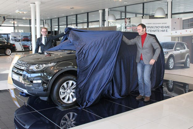 Land Rover Discovery Sport с предпремиера у нас