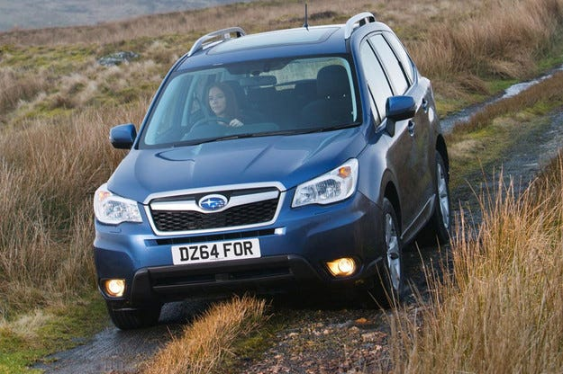 Компанията Subaru даде ново лице на кросоувъра Forester