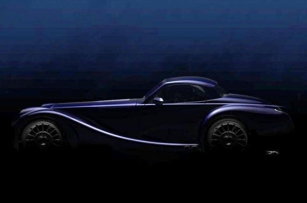 Morgan публикува тийзър на нов спортен автомобил