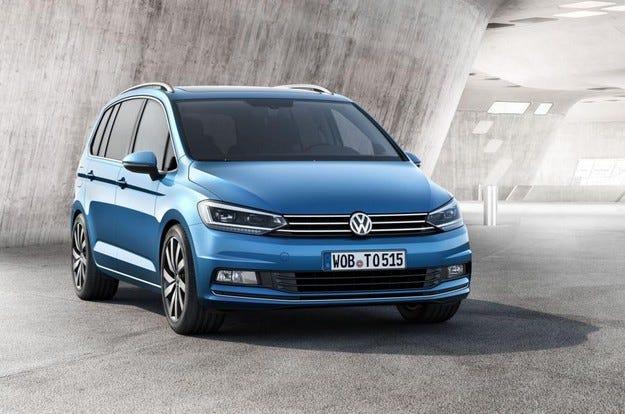 Разкриха  Volkswagen Touran от моделената 2016