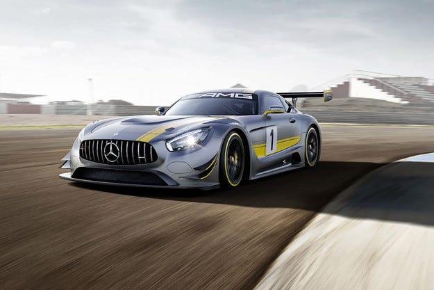 Mercedes разкри наследника на SLS AMG GT3
