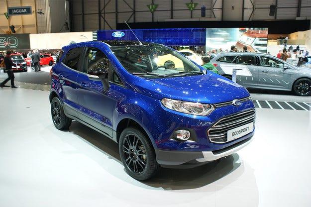 Американската компания Ford обнови кросоувъра EcoSport