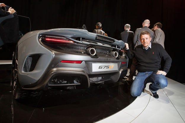 McLaren 675LT на автомобилното изложение Женева 2015