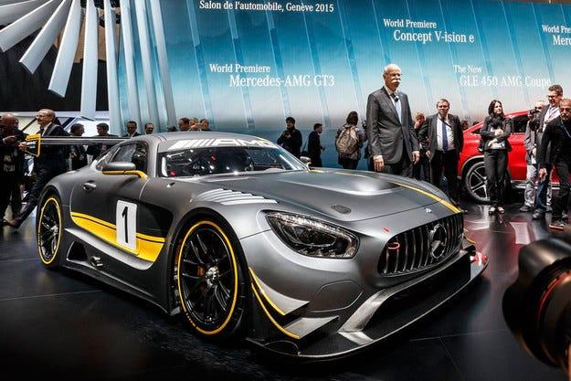 Mercedes разкри официално наследника на SLS AMG GT3