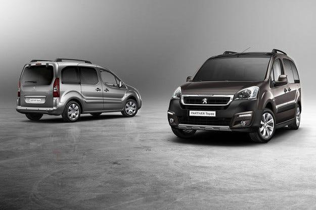 Peugeot Partner Tepee: Усъвършенстван дизайн и техника