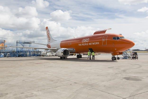 TNT стартира регулярни полети до Тел Авив