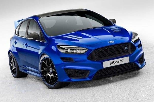 На обновения Ford Focus RS добавят още мощност