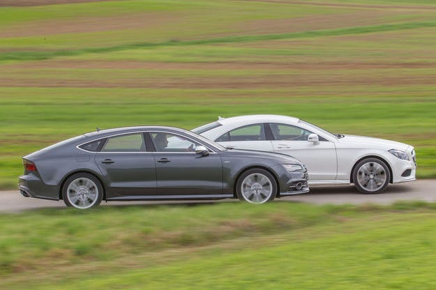 Audi S7 Sportback vs. Mercedes CLS 500 4Matic