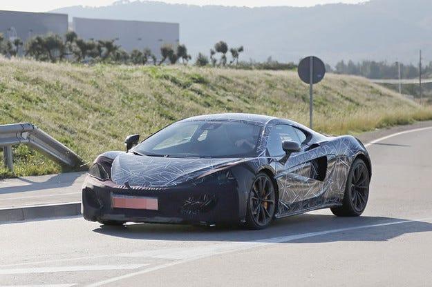 McLaren Sports Series: Всекидневен супер спортен модел