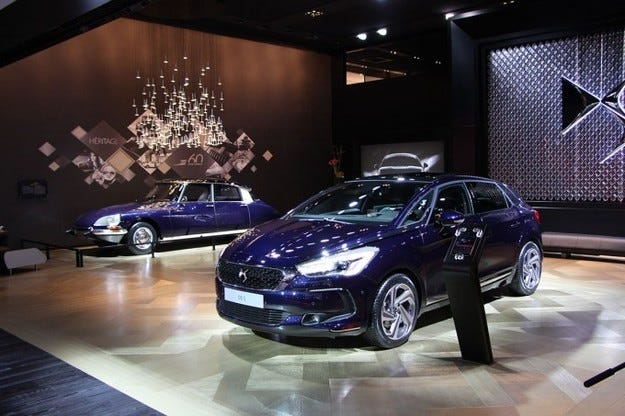 Тежката корона на наследството: Citroën DS и DS 5 в Женева