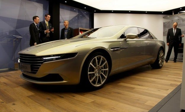 Lagonda Taraf: Лимузината според виждането на Aston Martin