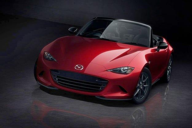 Mazda ще покаже специална версия на роудстъра MX-5