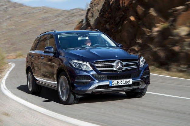 Mercedes GLE гастролира на автосалона в Ню Йорк