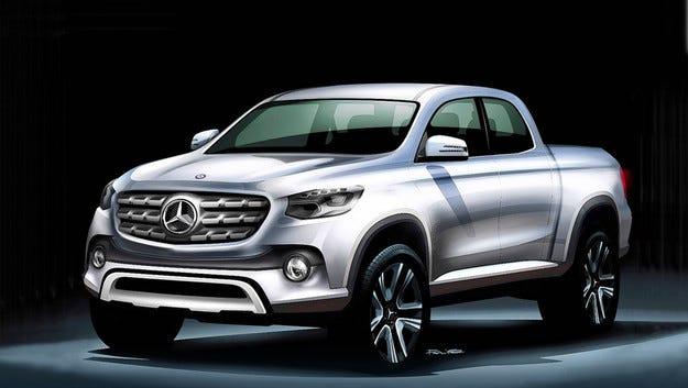 Mercedes ще разработтва първия си средно голям пикап