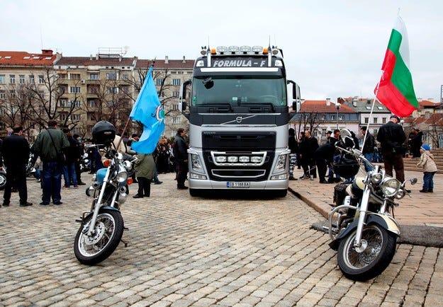 За четвърти път Volvo FH поведе рокерското шествие в столицата