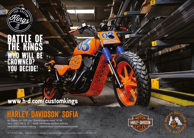 Започва битката в Европа за титлата top custom bike builder