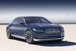 Lincoln показа концептуалния седан Continental