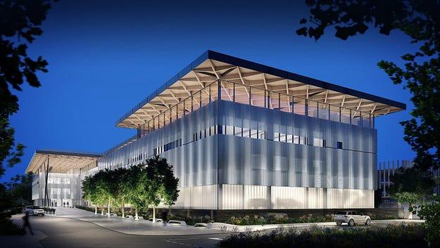 Jaguar Land Rover строи уникален иновационен център